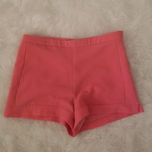 Coral Dressy Shorts